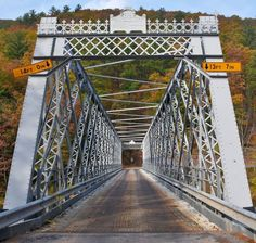 Fall in Love with a Metal Truss Bridge - Pennsylvania Historic Preservation Back Road, Brooklyn Bridge, Bridges, Railroad Tracks, Pennsylvania, Falling In Love, River, Beautiful, Rivers