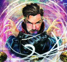 Doctor Stephen Strange art