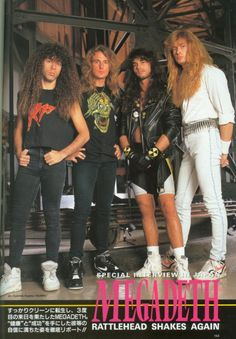 Megadeth - Burrn!, March 1991