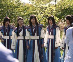 161107 Minho - KBS 'Hwarang' Official Site Update #Shinee