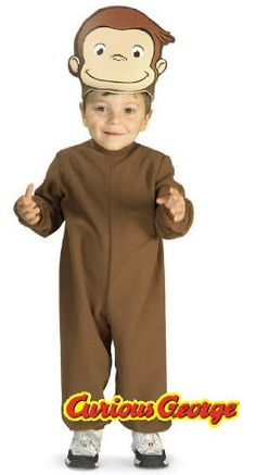 [HALLOWEEN] Curious George Toddler Costume - $41.98 with FREE SHIPING WORLDWIDE! 2 DAYS for ALL USA DELIVERY!!! visit our site ->>> http://HALLOWEEN-CLOTHES.CF