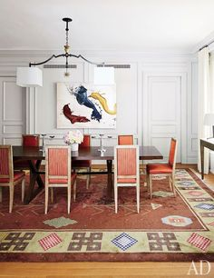 Design Hub - блог о дизайне интерьера и архитектуре: Стильная квартира модного редактора на Манхеттене