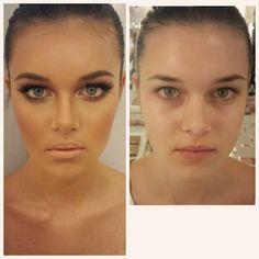 Topmodel Look vs School Girl-Teenager Beauty.  #makeupbynatashadenona #natashadenonaproducts  #different #beforeandafter #transformation #beauty #makeup #fashionmakeup #workshop #demonstration