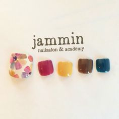 ネイル 画像 nailsalon&academy jammin 牛田 993432 Pedicure Nail Art, Manicure, Toe Nail Art, Feet Nail Design, Toe Nail Designs, Finger Nail Art, Feet Nails, Japanese Nails, Fabulous Nails