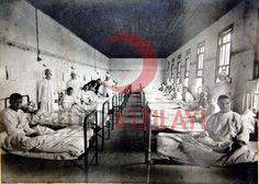 1914-1918 1.Dünya Savaşı Hilal-İ Ahmer Asker Hastanesi