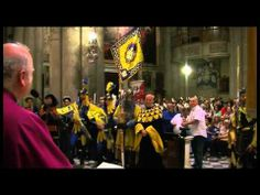 Giostra del Saracino, il Te Deum di Porta Santo Spirito - YouTube