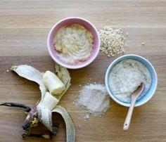 Papilla de cereales caseros para bebés