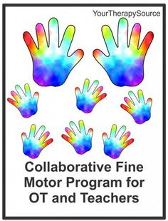 Research on a Collaborative Fine Motor Program- pinned by @PediaStaff – Please Visit  ht.ly/63sNt for all our pediatric therapy pins