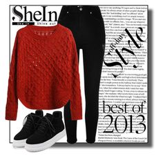 """SheIn9"" by irmica-831 ❤ liked on Polyvore featuring River Island and WithChic"