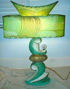 Rare vtg 1950s majestic table lamp fiberglass shades mid century rare vtg 1950s majestic table lamp fiberglass shades mid century modern retro modern retro mid century modern and mid century aloadofball Choice Image