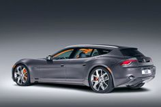 Fisker Karma Sportback: Kind of in love with this style!