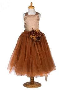 Little gingerbread girls will adore the festive glow that this fantastical casts. Shades of brown and coffee combine to create a divinely sophisticated Girls Tutu Dresses, Flower Dresses, Tulle Flowers, Kids Z, Dresses Online, Party Dress, Blush, Brown, Gingerbread