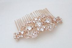 Vintage inspired hair comb accessory