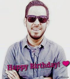 HAPPY BIRTHDAY MIKE SHINODA <3 <3 <3 <3 <3 <3 <3