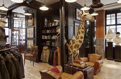 Hackett opens Spitalfields concept store