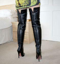 Gianrico Mori thigh length boots