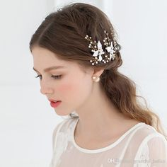 Let Yourself Shine Wearing Wholesale High Quality Hair Accessories Petite Enamel Leaf Bobby Pins Wedding