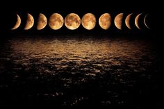 Image result for moon phases
