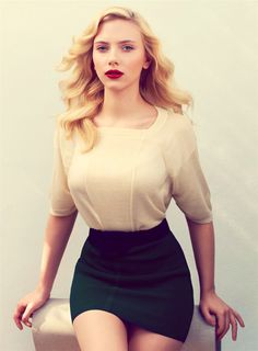 scarlett johansson... I want to have her body