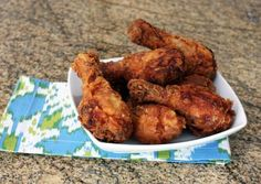 Absolutely delicious, quick & easy oven fried chicken!!