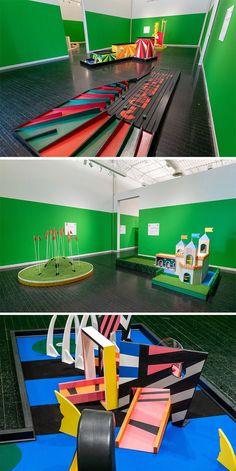 Teen Art, Miniature Golf, Walker Art, Colossal Art, Chicago Tribune, Art Institute Of Chicago, Wall Street Journal, Optical Illusions, Art Museum