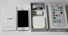 Thank you for looking at our Auction! Up for auction is a New Other Apple iPhone 5s unlocked AT&T. Unlocked by AT&T to be used with other GSM carriers... #smartphone #other #mobileunlocked #silver #iphone #white #apple