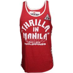 Roots of Fight Thrilla Anniversary Souvenir Tank – MMAWarehouse