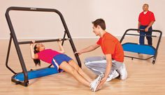 AssessPro® Modified Pull-up Fitness System