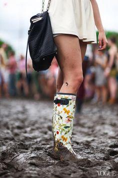 cant wait till summer.. cute festival wellies