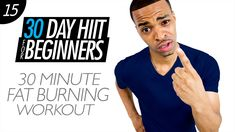 30 Min. Fat Burning Workout Drills for Beginners | Beginner HIIT #15