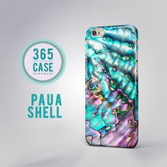 Paua Shell iPhone 6/6 Plus Abalone Shell Turquoise by 365case