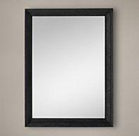 Marseilles Mirror - Black