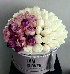 Flowers Tulips White Bouquets 59 New Ideas Deco Floral, Arte Floral, Beautiful Flower Arrangements, Floral Arrangements, Amazing Flowers, Beautiful Flowers, Luxury Flowers, Decoration Plante, Wedding Table Flowers