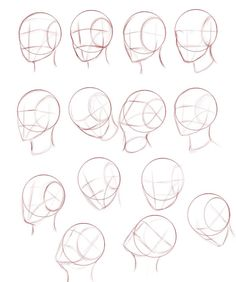 Face Drawing Reference Anatomy Reference Drawing Tips Anime W Drawing Heads
