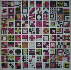 City Sampler (Tula Pink's 100 modern block)