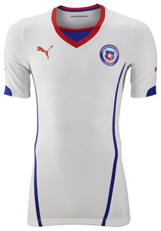Chile Away Kit for World Cup 2014 #worldcup #brazil2014 #chile #soccer #football #CHI