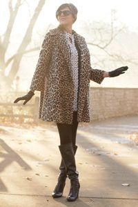 this is the perfect leopard coat, of course it is vintage and I will now be on an eternal search Leopard Print Coat, Leopard Prints, Animal Prints, Cheetah Print, What I Wore, What To Wear, Style Me, Cool Style, Classy And Fabulous
