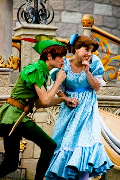 Are You Ready to Take Adventure with Peter Pan? Peter Pan Disneyland, Disney Peter Pan, Parc Disneyland, Disneyland World, Disney Couples, Disney Parks, Walt Disney World, Disney Pixar, Disney And More