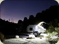 So-cal teardrops offroad camp trailer