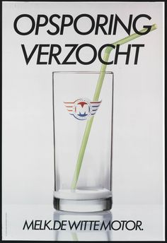 Opsporing verzocht Vintage Advertisements, Vintage Ads, Vintage Posters, Billboard, Advertising, Childhood, Funny, Dairy, Poster Poster