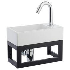 Atlantic Henry fonteinset links keramiek wit kopen? wastafels | KARWEI