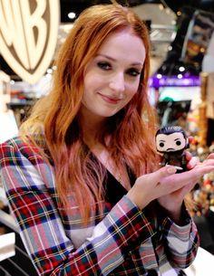 "fionagoddess:  ""Sophie Turner at San Diego Comic Con 2017.  """