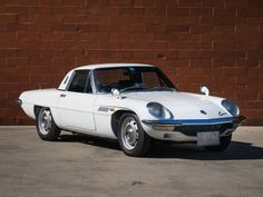 The 1970 #Mazda Cosmo #Sport Series II will be featured at #TheScottsdaleAuction , you can get pre-approved for auction by applying online with Premier. Visit www.pfsllc.com and get on the #road (Image Source: rmsothebys.com Lot #217)