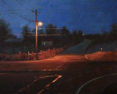 Night Light by Jason Sacran Acrylic 24 x 30 Nocturne, Painting Inspiration, Art Inspo, Painting Competition, Guache, Art Competitions, City Art, Pretty Art, Light Painting