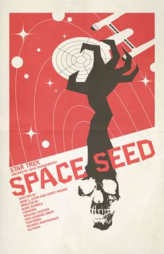 "Space Seed - ""Star Trek"" Episodes Rendered As Movie Posters"
