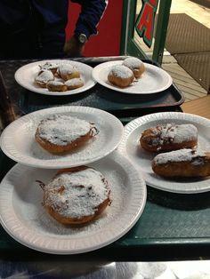 Deep fried #Oreos #Twinkies #PBandJelly on the #AtlanticCity #Boardwalk #JerseyShore #FunFood