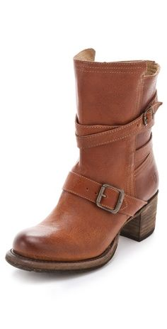Frye Vera Strappy Boots> I love these. I own these and I want them in every colour !