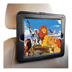 iPad Headrest Mount For Car-Fits Apple iPad's 1,2,3 4 Holder Keeps iPad in Car Secure Within A Strong PU Leather Case. Safe Car Mount for Kids Inndise http://www.amazon.com/dp/B00D66ALQI/ref=cm_sw_r_pi_dp_fzuYvb0RHSK71