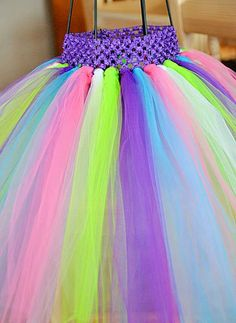 Custom tutu skirt you chose colors, check out store for dresses and sets