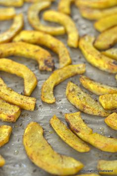 Oven Baked Pumpkin Chipotle Fries